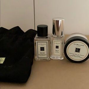 Jo Malone travel body set with pouch